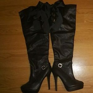 Shoes - Applebottom Knee High boots